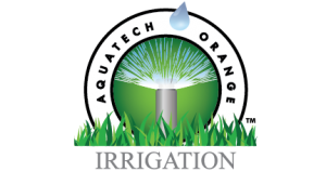 aquatech orange irrigation logo