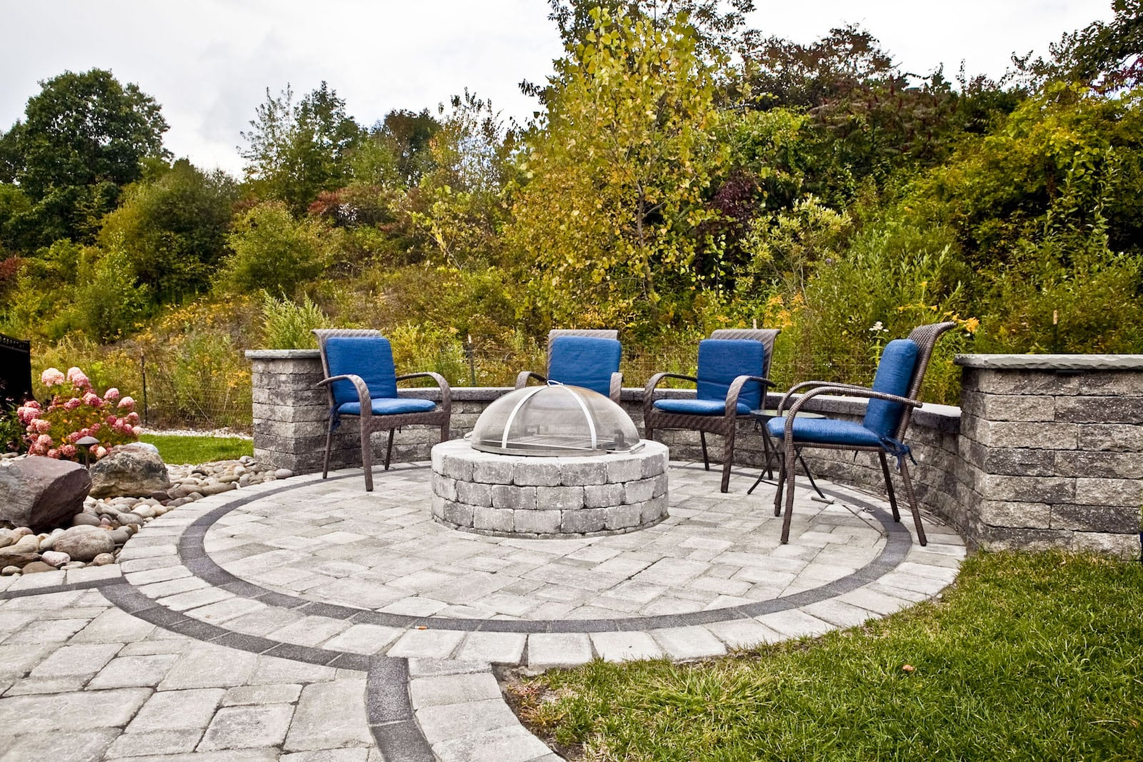 Tony Monaco Landscaping Patio and Fire Pit